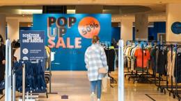 Pop-up-Schnäppchen
