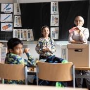 """Der, die, das: Kinder aus einer Intensivklasse verbessern in den Ferien ihre Sprachkenntnisse im """"Deutschsommer"""", einem Projekt der Stiftung."""