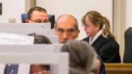 Der syrische Angeklagte Anwar R. im Juni in Koblenz