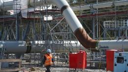 Dänen verzögern Nord Stream 2