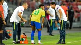 Neymar fällt mit Verletzung vier Wochen aus