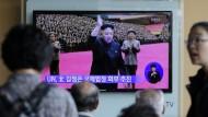 Kim Jong-un fehlt bei Parteijubiläum