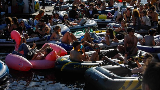 Wasser-Rave statt Kultur-Demo