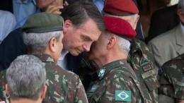 Bolsonaro will Jahrestag des Militärputschs feiern