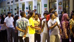 Polizei sagt Wahlen auf den Malediven ab