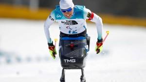Andrea Eskau holt Gold im Biathlon