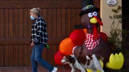 Amerikaner wollen Thanksgiving gemeinsam feiern