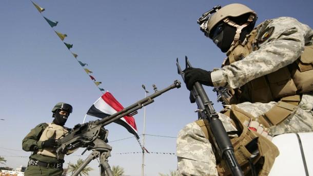 Irakisches Militär warnt vor Waffenlieferungen