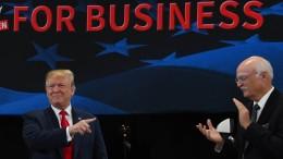 Wirtschaftsboom, made by Trump?