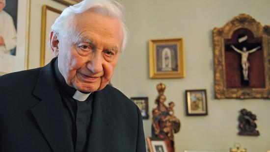 Papstbruder im Alter von 96 Jahren gestorben