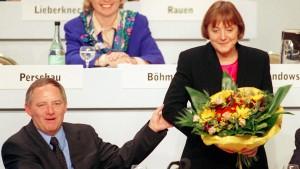 Wer hat das Copyright auf Merkels Karriere?