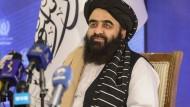 Afghanistans neue Machthaber: Taliban wollen zu UN-Vollversammlung