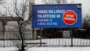 """EU-Kommission verklagt Ungarn wegen """"Stop-Soros-Gesetz"""""""