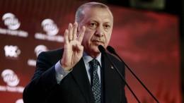 Erdogan weist internationale Kritik zurück