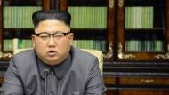 Wortkrieg zwischen Kim Jong-un und Donald Trump