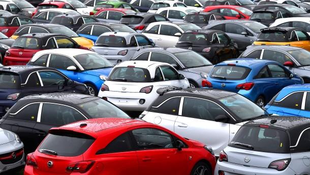 Abgasregeln bremsen den Automarkt aus