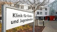Das betroffene Krankenhaus in Ulm