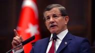 Davutoglu kündigt Erklärung für Donnerstag an