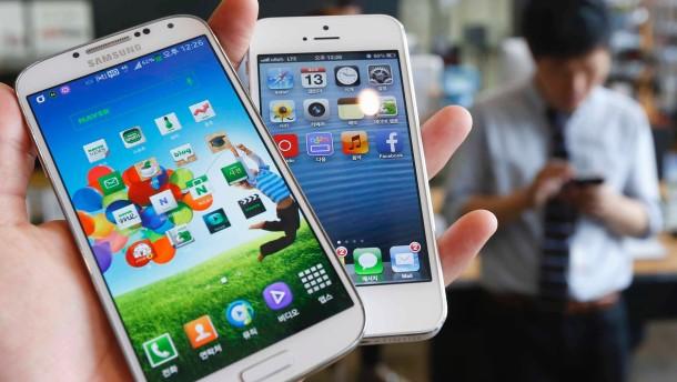 Samsung hängt Apple immer weiter ab