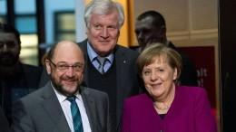 Union und SPD über Koalition einig