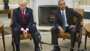 Trump wirft Obama Untätigkeit vor