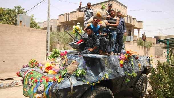 Mehr als 150 IS-Kämpfer nahe Falludscha getötet