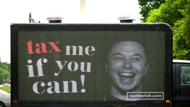 Jeff Bezos und Elon Musk zahlen kaum Steuern