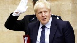 Johnson lässt Pressekonferenz sausen