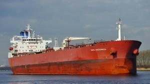 Blinde Passagiere auf Tanker vor Isle of Wight