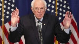 Bernie Sanders steigt aus