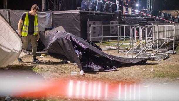 Mehr als 20 Menschen bei Rap-Konzert in Essen verletzt