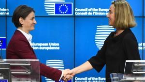 EU will Beitritt der Westbalkan-Länder offenbar vorantreiben