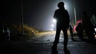 Suche nach Überlebenden nach dem Grubenunglück in China