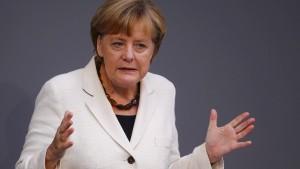 Merkel besteht auf Reformkurs in Europa