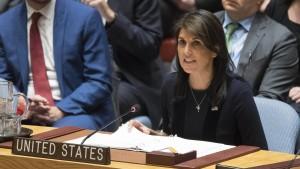 Amerika unterstützt Mays Vorgehen gegen Russland