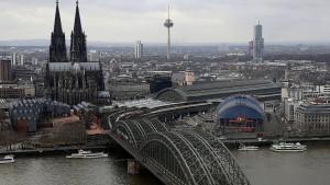Massive Einschränkungen im Bahnverkehr rund um Köln