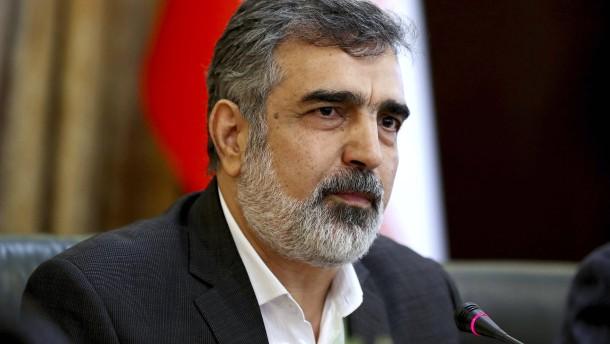 Iran meldet Überschreitung des Urananreicherungslimits