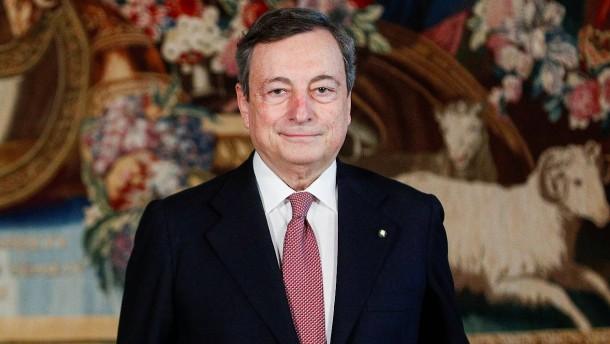 Draghi als italienischer Ministerpräsident vereidigt