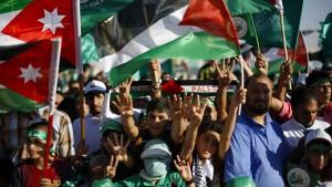 Tausende Muslimbrüder demonstrieren für Hamas