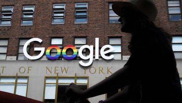 Auch Google spürt die Corona-Krise