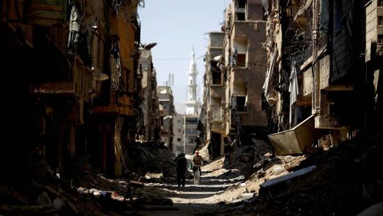 Sie tanzt durch Damaskus