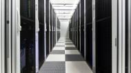Eigentlich zuverlässig: Rechenzentrum von Interxion in Frankfurt, wo auch Rechner des Internetknotens De-Cix stehen