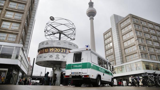 Verfolgungsjagd durch Berlin