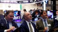 Aus Hoffnung wird an der Börse schnell Enttäuschung: Szene von der New York Stock Exchange