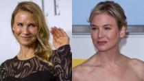 Doch, es ist die gleiche Frau: Renée Zellweger 2014 (links) und 2011