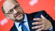 """SPD-Chef Martin Schulz: """"Das Bundesfinanzministerium ist das Ziel."""""""