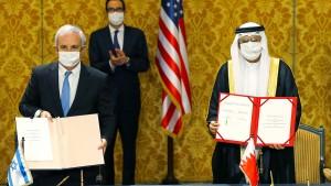 Israel und Bahrein nehmen diplomatische Beziehungen auf
