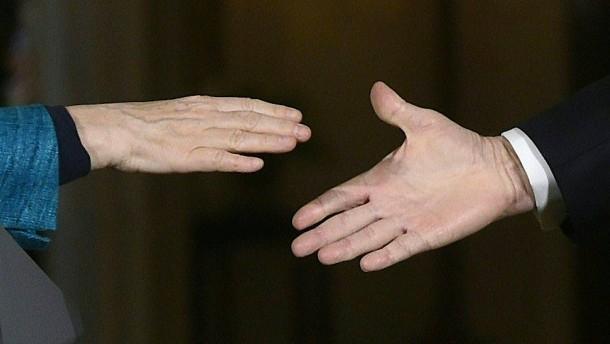 Schlechte Zeiten für den Handschlag