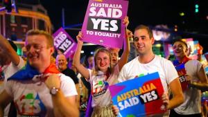 Schwule und Lesben feiern 40 Jahre Mardi Gras