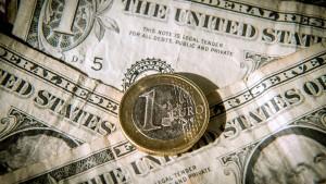 Der Euro steigt wieder auf 1,10 Dollar